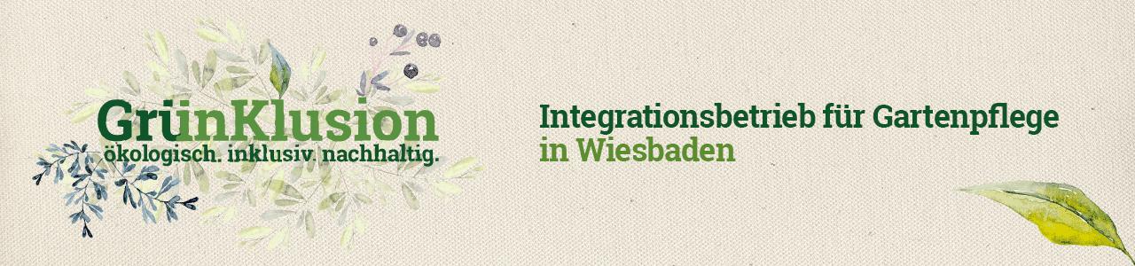 Gruenklusion - Integrationsbetrieb für Gartenpflege